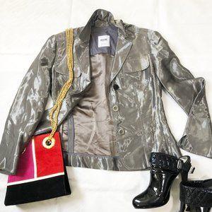 Moschino silk blend jacket